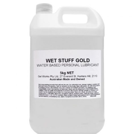 Wet Stuff Gold 5kg lubricant