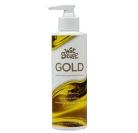 Wet Stuff Gold 270g Pump Dispenser lubricant