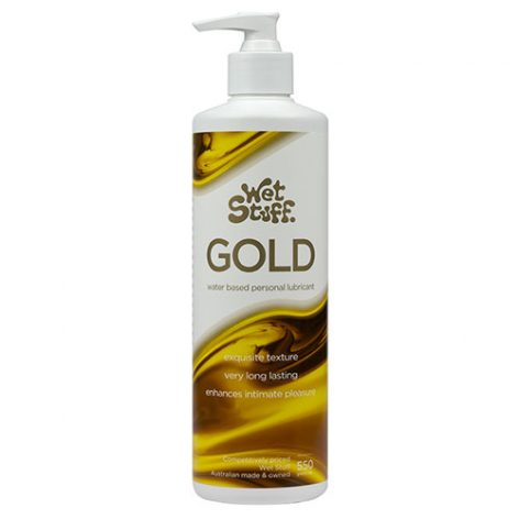 Wet Stuff Gold 550g Pump Dispenser lubricant