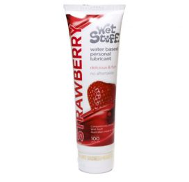Wet Stuff Strawberry Flavour Lubricant
