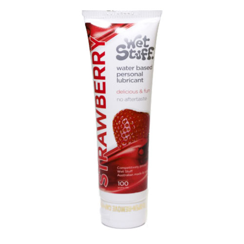 Strawberry Flavour Lubricant 100g