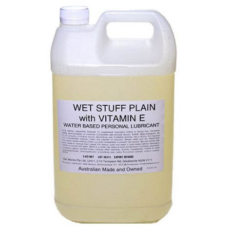 Wet Stuff Plain with Vitamin E lubricant 5kg